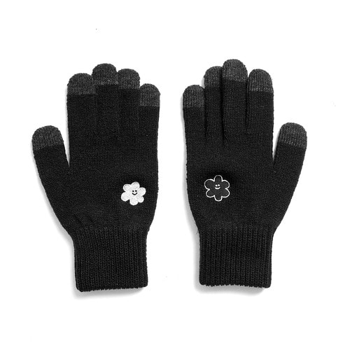 [EZwithPIECE] DAISY SMART GLOVES (BLACK)