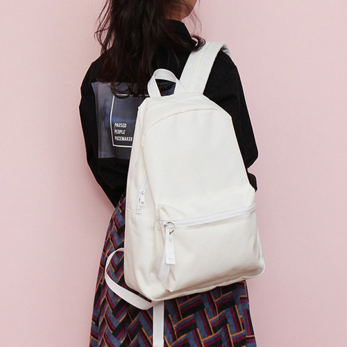 [착한가방] ALICE CORDURA DAY PACK (OFF WHITE)