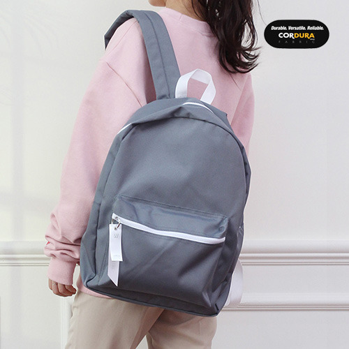 [착한가방] ALICE CORDURA DAY PACK (L GREY)