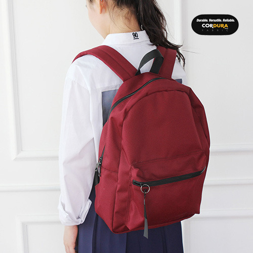 [착한가방] ALICE CORDURA DAY PACK (WINE)